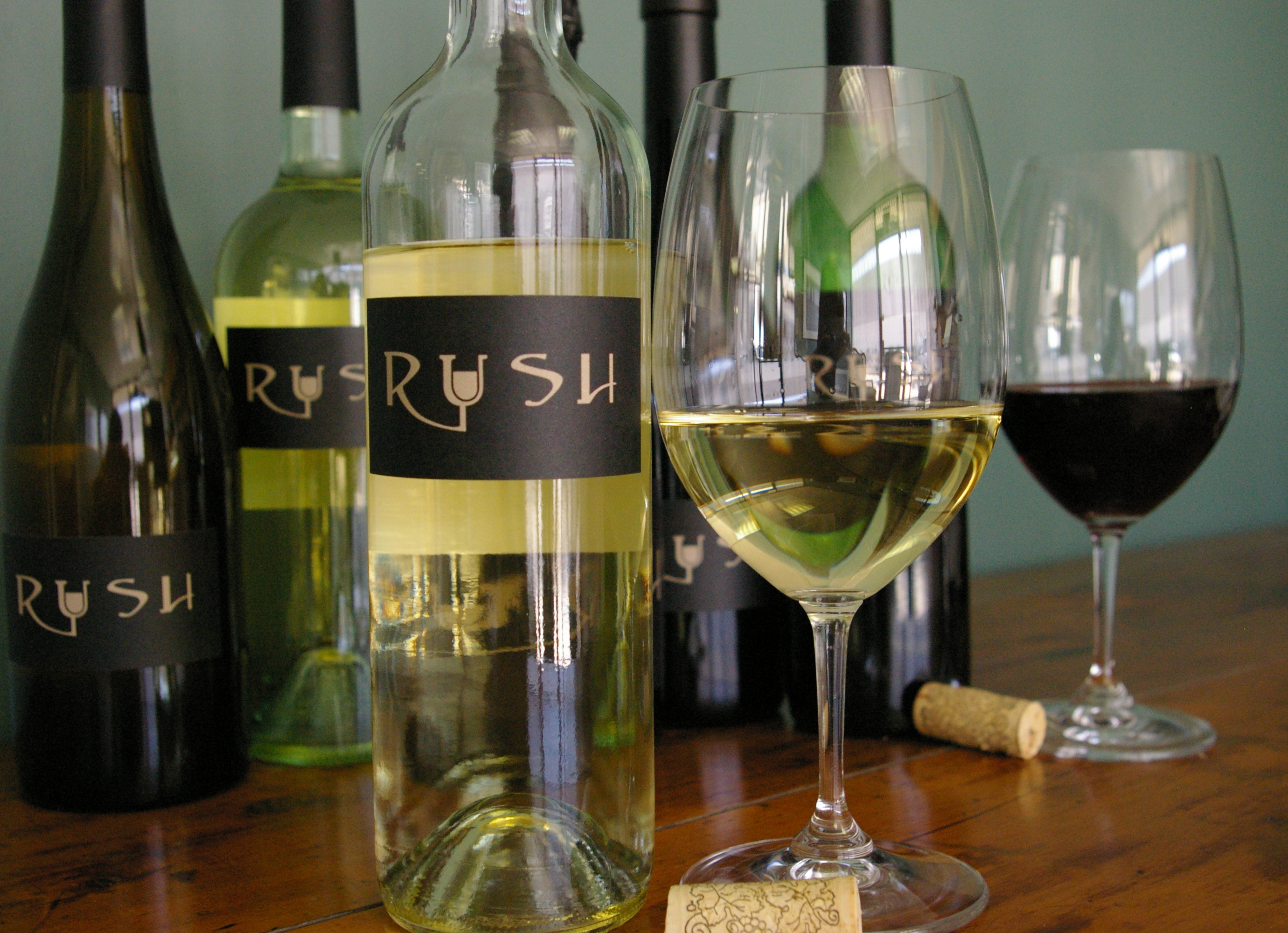 Rush Cellars Bottles